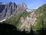 Mt. Colonel Foster and landslide scar