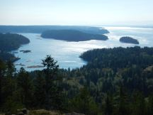 Looking south from Blindman's Bluff