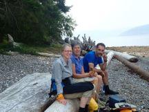 Lunch on Breton Island