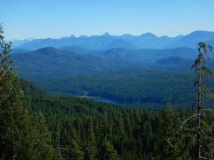 Stramberg Lake and beyond