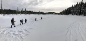 Crossing Battleship Lake